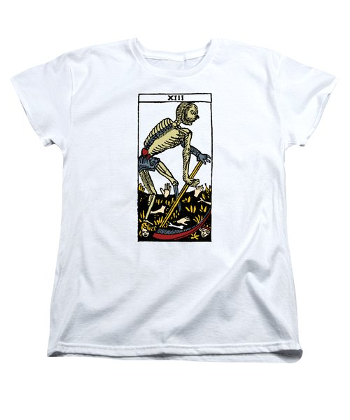 Tarot Card Death Women's T-Shirt (Standard Cut) by Granger