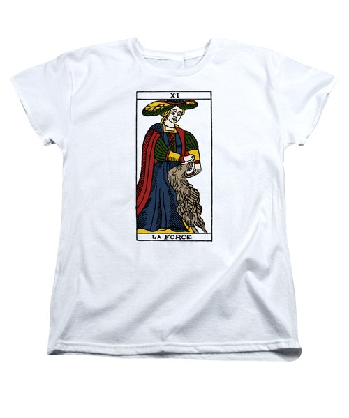Tarot Card Strength Women's T-Shirt (Standard Cut) by Granger
