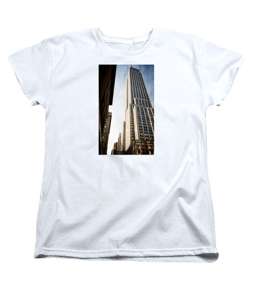 The Empire State Building Women's T-Shirt (Standard Cut) by Sabine Edrissi