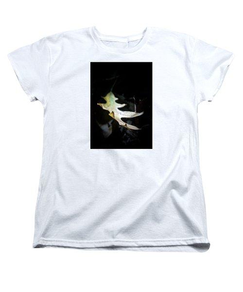 The Leaf Women's T-Shirt (Standard Cut) by Tim Good