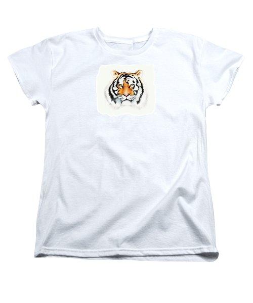 Tiger Women's T-Shirt (Standard Cut) by Brian Gibbs
