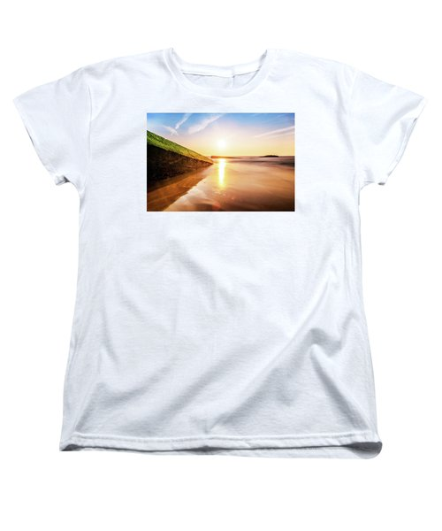 Women's T-Shirt (Standard Cut) featuring the photograph Touching The Golden Cloud by Thierry Bouriat