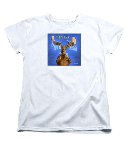 Wine Rack... Women's T-Shirt (Standard Cut) by Will Bullas