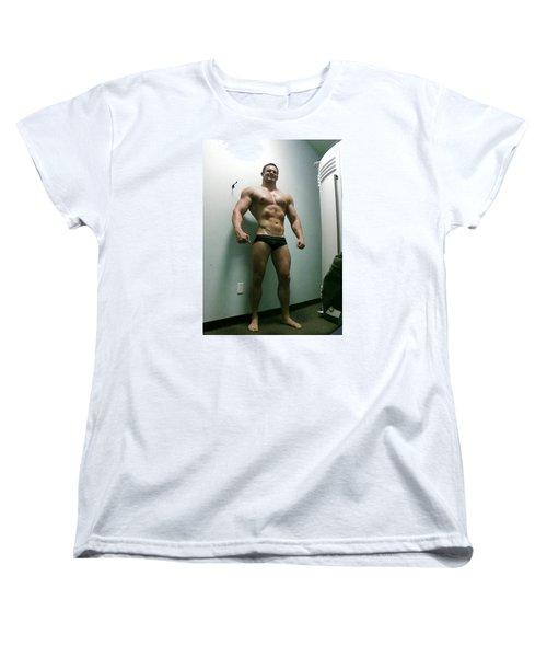 Wrestler Women's T-Shirt (Standard Cut) by Jake Hartz