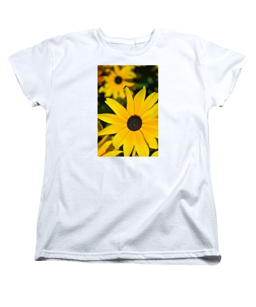 Women's T-Shirt (Standard Cut) featuring the photograph Yellow Flowers by Bob Pardue