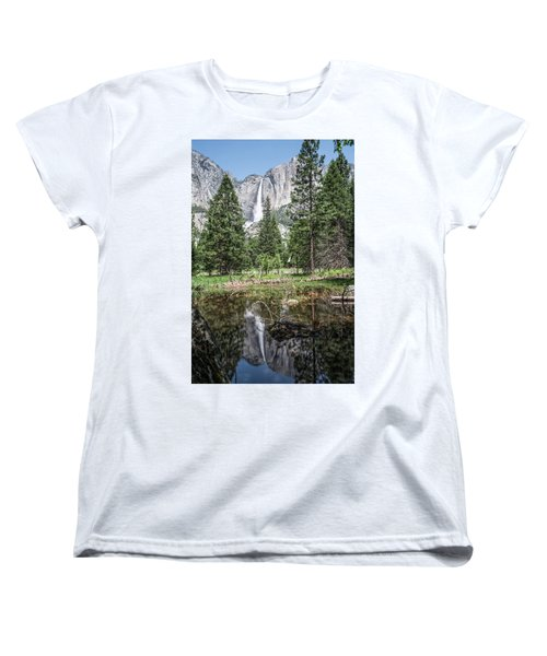 Yosemite View 16 Women's T-Shirt (Standard Cut) by Ryan Weddle