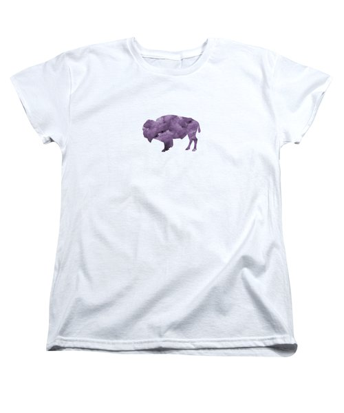Bison Women's T-Shirt (Standard Cut) by Mordax Furittus