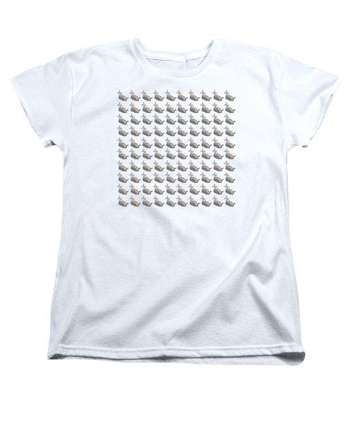 100 Drunken Rabbits Women's T-Shirt (Standard Cut) by Stan  Magnan