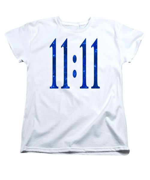 11 11 Women's T-Shirt (Standard Cut) by Ginny Gaura