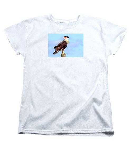 Crested Caracara Women's T-Shirt (Standard Cut)