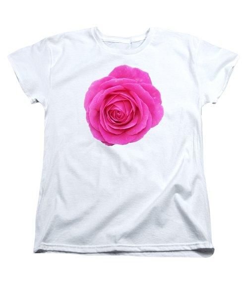Women's T-Shirt (Standard Cut) featuring the photograph Rose by George Atsametakis