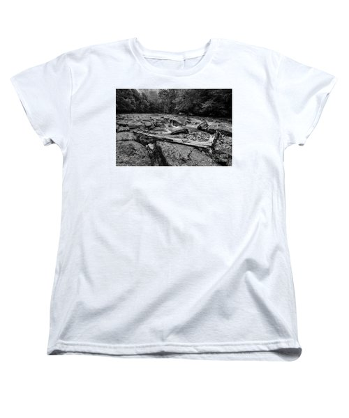 Women's T-Shirt (Standard Cut) featuring the photograph Williams River Summer by Thomas R Fletcher