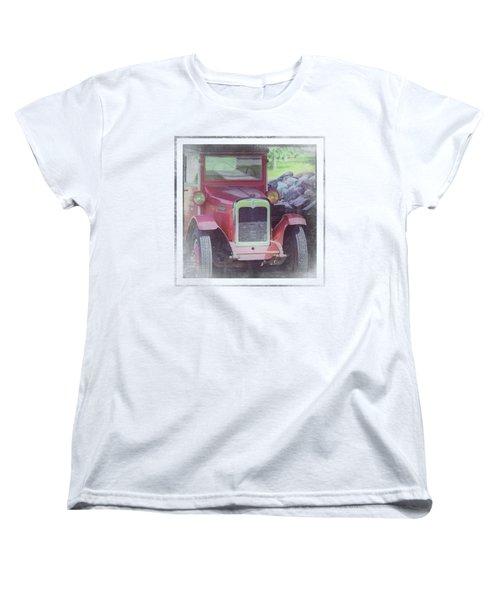 1920 International Farm Truck Women's T-Shirt (Standard Cut)