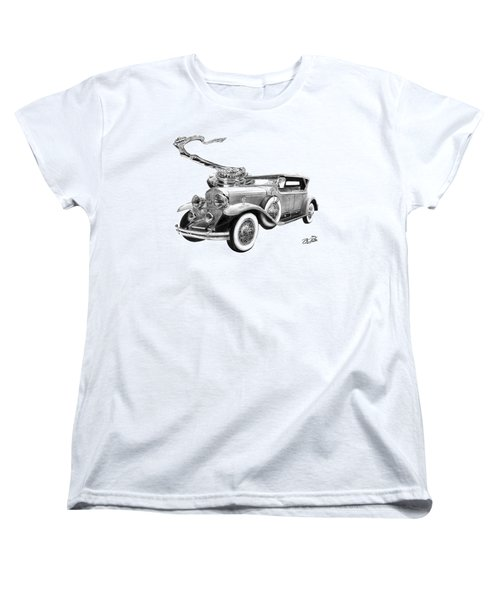 1929 Cadillac  Women's T-Shirt (Standard Cut) by Peter Piatt