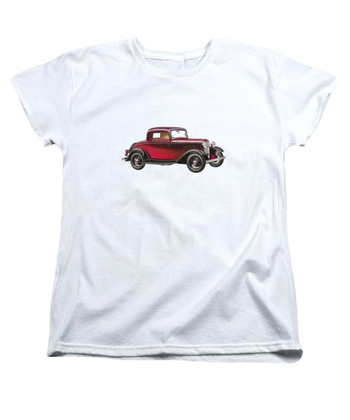 1932 Ford Deluxe Women's T-Shirt (Standard Cut) by John Haldane
