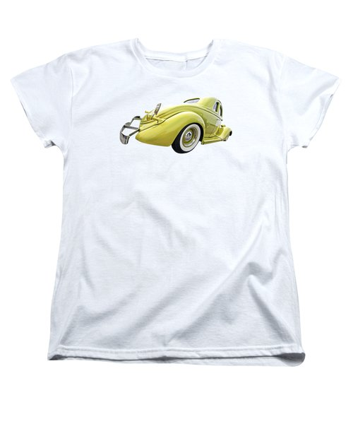 1935 Ford Coupe Women's T-Shirt (Standard Cut) by Gill Billington