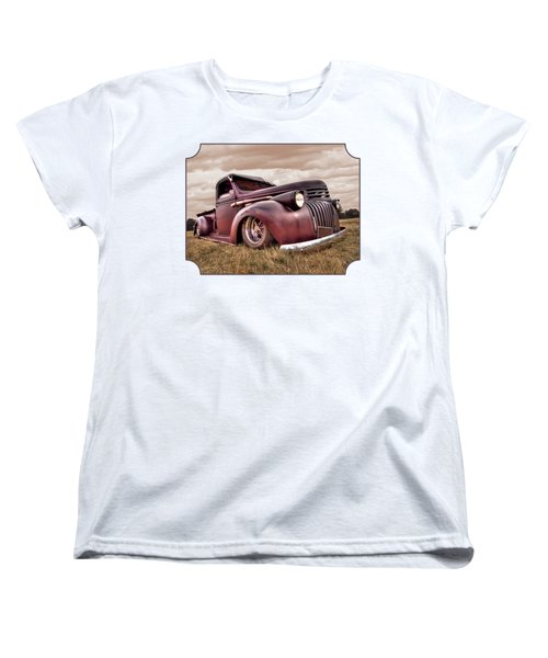1941 Rusty Chevrolet Women's T-Shirt (Standard Cut) by Gill Billington