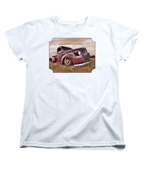 1941 Rusty Chevrolet Women's T-Shirt (Standard Cut)