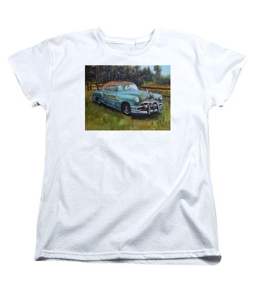 1952 Pontiac Chieftain  Women's T-Shirt (Standard Cut) by Sandra Nardone