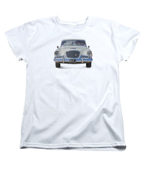 1961 Studebaker Hawk On A Transparent Background Women's T-Shirt (Standard Cut) by Terri Waters