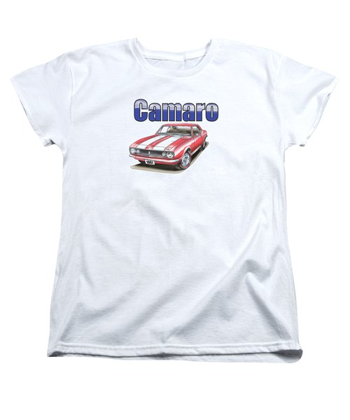1967 Camaro Women's T-Shirt (Standard Cut) by Thomas J Herring