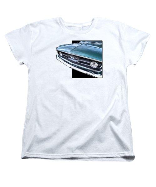1967 Mustang Grille Women's T-Shirt (Standard Cut) by Gill Billington