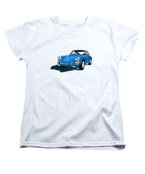 Porsche 911 1968 Women's T-Shirt (Standard Cut) by Jack Pumphrey
