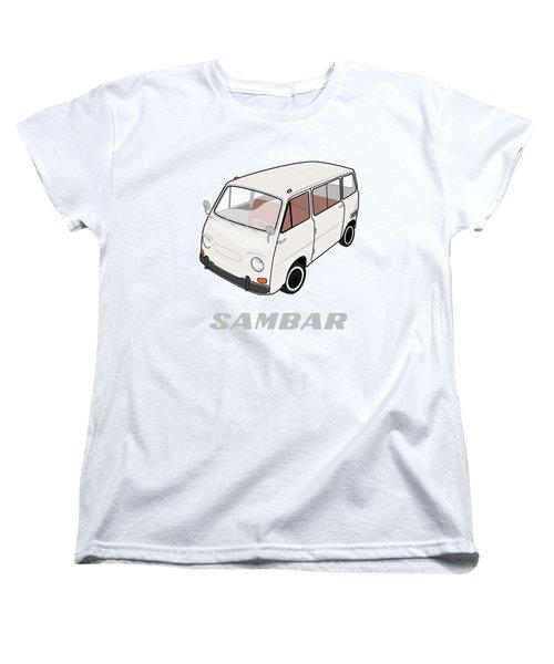 1970 Subaru Sambar Van Women's T-Shirt (Standard Fit)