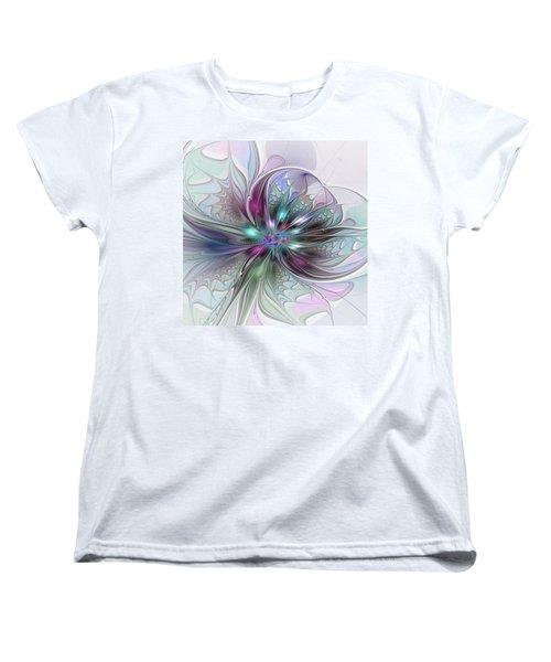 Abstract Art Women's T-Shirt (Standard Cut) by Gabiw Art
