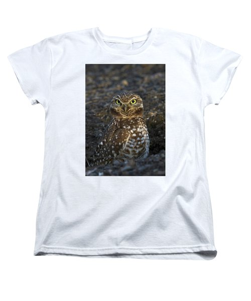 Burrowing Owl Women's T-Shirt (Standard Cut)