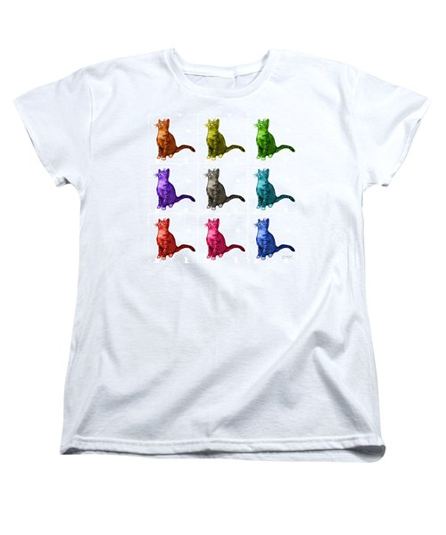 Cat Art - 3771 Bb Women's T-Shirt (Standard Cut) by James Ahn