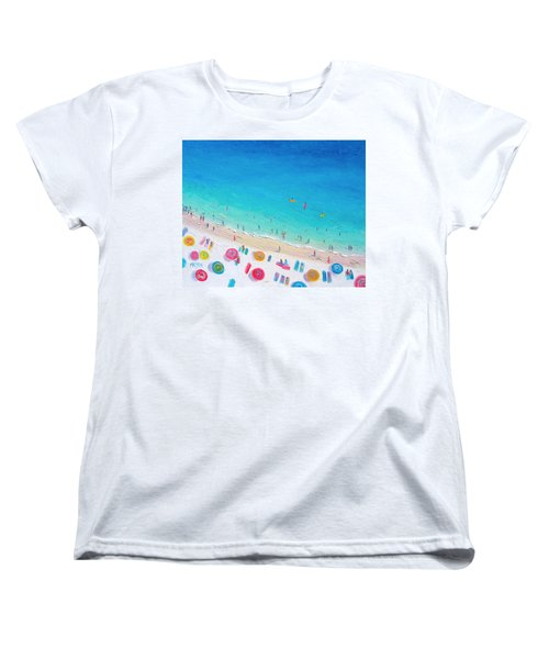 Colors Of The Beach Women's T-Shirt (Standard Cut) by Jan Matson