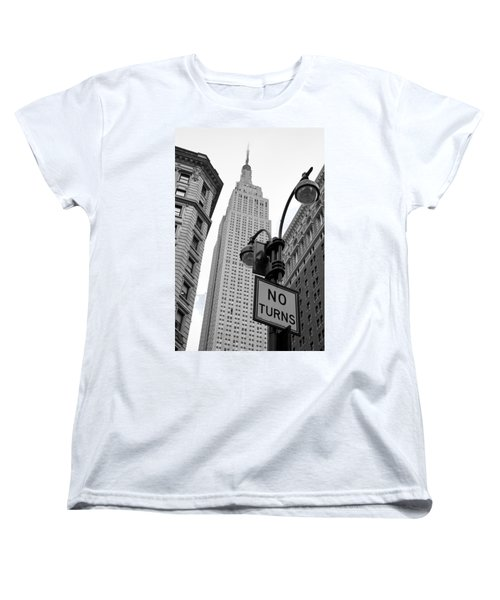 Empire State Building Women's T-Shirt (Standard Cut) by Michael Dorn