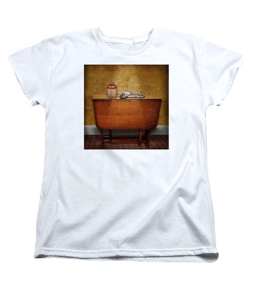 2 Fish And A Jug Women's T-Shirt (Standard Cut) by Marty Garland