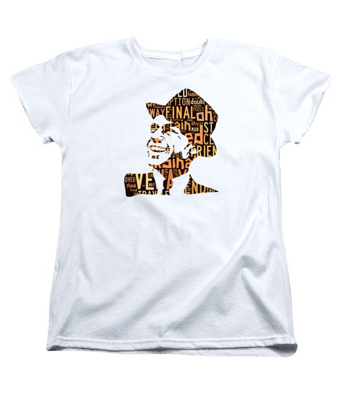 Frank Sinatra I Did It My Way Women's T-Shirt (Standard Cut) by Marvin Blaine