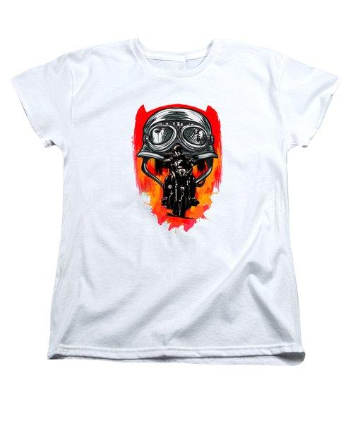 Freedom Women's T-Shirt (Standard Cut) by Andrzej Szczerski