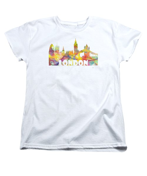 London England Skyline Women's T-Shirt (Standard Fit)