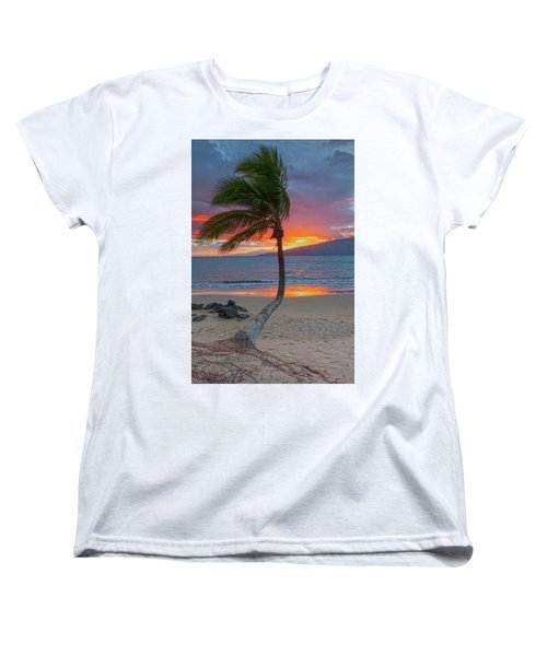 Lonely Palm Women's T-Shirt (Standard Cut) by James Roemmling
