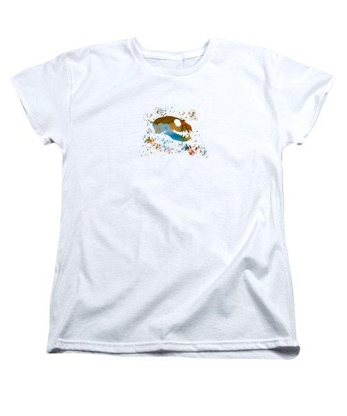 Meerkat Skull Women's T-Shirt (Standard Cut)