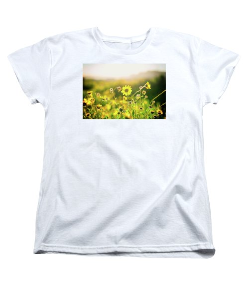 Nature's Smile Series Women's T-Shirt (Standard Cut) by Joseph S Giacalone