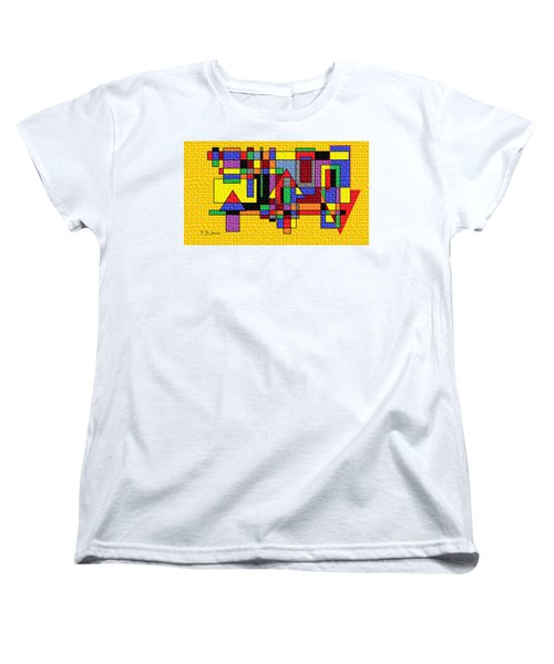 New Upload Women's T-Shirt (Standard Cut) by Tom Janca