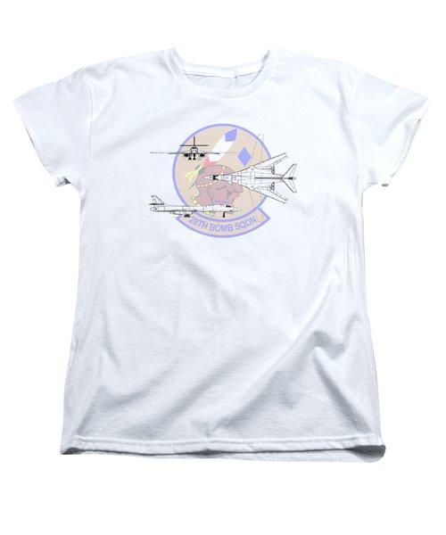 Rockwell B-1b Lancer Women's T-Shirt (Standard Cut) by Arthur Eggers
