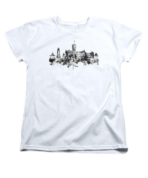 Rutherglen Scotland Skyline Women's T-Shirt (Standard Cut)