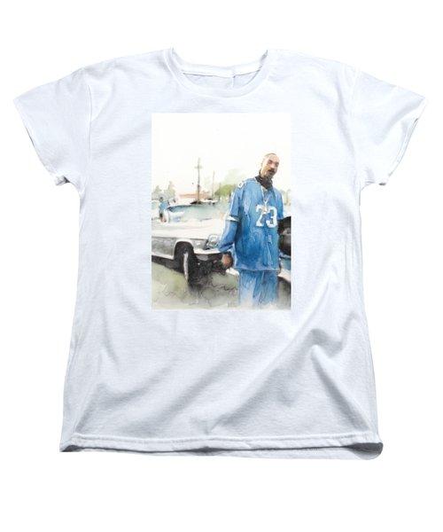 Snoop Detail Women's T-Shirt (Standard Cut) by Jani Heinonen