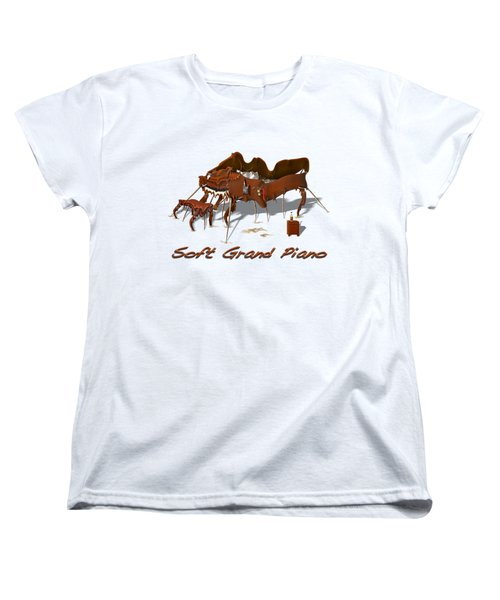 Soft Grand Piano  Women's T-Shirt (Standard Cut)