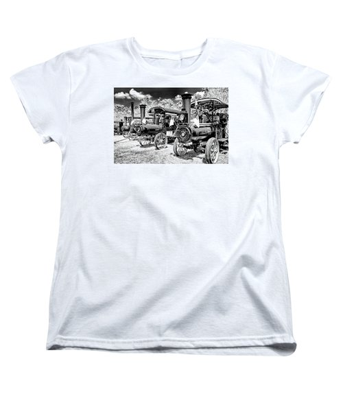 Women's T-Shirt (Standard Cut) featuring the photograph The Old Way Of Farming by Paul W Faust - Impressions of Light