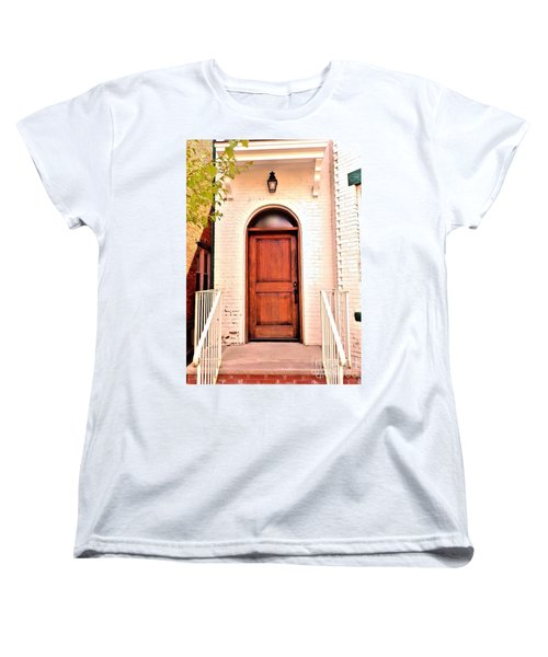 Women's T-Shirt (Standard Cut) featuring the photograph Welcome Home by Becky Lupe