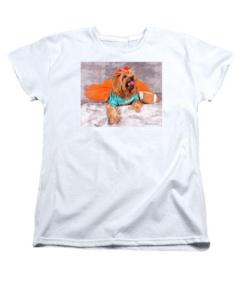 Women's T-Shirt (Standard Cut) featuring the photograph 20160805-dsc00549 by Christopher Holmes