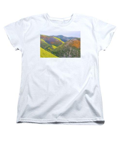 2017 California Super Bloom Women's T-Shirt (Standard Cut) by Marc Crumpler