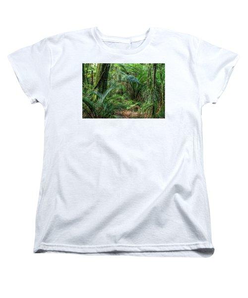 Women's T-Shirt (Standard Cut) featuring the photograph Jungle by Les Cunliffe